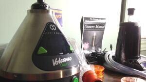 Medical marijuana vaping machine at Marijuana For Trauma Inc.