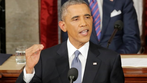 U.S. President Barack Obama delivered his state of the union address Tuesday amid numerous signs that the economic recovery is taking hold, including 5.6% unemployment, cheap gas and greater consumer confidence.