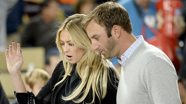 Paulina Gretzky's fiancee golfer Dustin Johnson announced in a statement that his son was born Monday morning.
