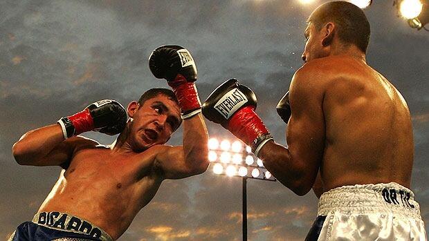 Ricardo Dominguez (left) and Rafael Ortiz (right), September 8, 2005. (Source: Wayne Short/Wikipedia)