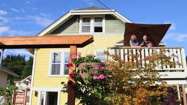 Powell River residents Chris and Uli bought their house while on a weekend trip from Vancouver.