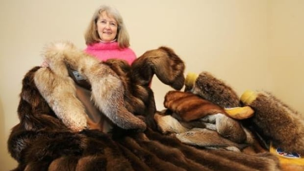 Gail Pettinger collects unwanted furs in Victoria to send to Nunavut, where they are really needed.
