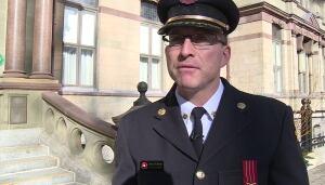 Deputy Fire Chief Roy Hollett