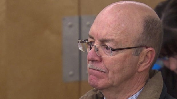 Richard Harvey, pictured in a December 2014 file image, has pleaded guilty to  making $29,000 in fraudulent expense claims during his four years working as superintendent for the Pembina Hills school district north of Edmonton.