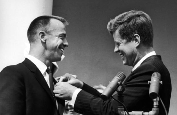 JFK Alan Shepard