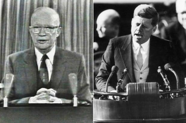 Eisenhower vs JFK
