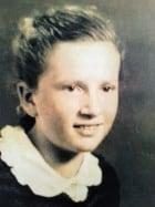 Miriam Ziegler as a girl