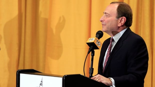 NHL commissioner Gary Bettman announced a 2016 World Cup hockey series will be held in Toronto in September, the start of a series to be held every four years.