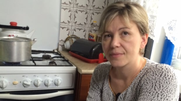 Svetlana Onike has watched her mortgage payments double in recent months due to the Russian ruble crisis. The ruble has shed nearly half its value in six months.