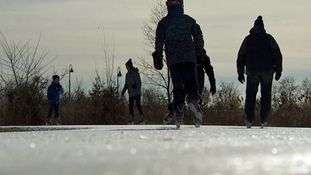 One argument against allowing skating at Grenadier Pond is that the city maintains more than 50 safe outdoor skating sites across the city.