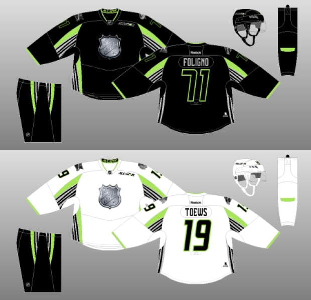 NHL All-Star jersey 2015