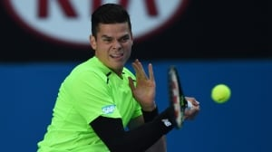 Milos Raonic moves on to Australian Open quarter-finals