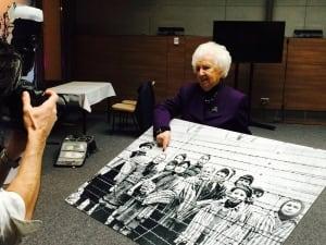 Miriam Ziegler photo Auschwitz Krakow