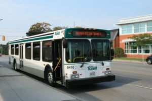 A Durham region bus