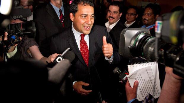 Raj Sherman was elected Liberal leader in September 2011.