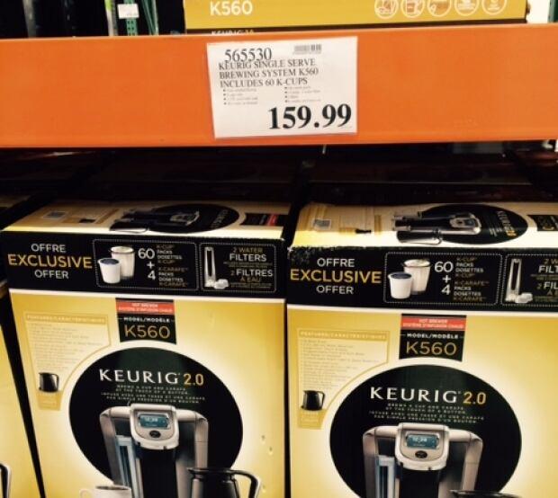 A Keurig home-brewing machine