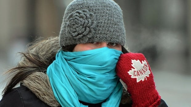 It was –25 C in Toronto when the sun came up on Saturday, but with the wind chill it felt like –40, cold enough to cause frostbite in just a few minutes.