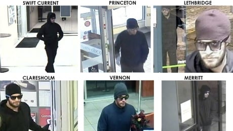 active bank robbers
