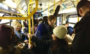 Vancouver bus riders