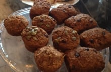 Quitters Coffee Kathleen Edwards morning glory muffins recipe