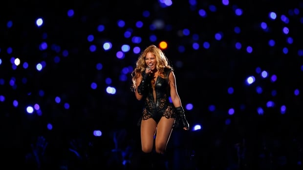 Beyonce performed during the halftime show of the NFL Super Bowl XLVII football game in New Orleans in February 2013.