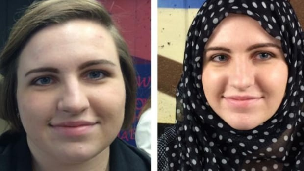 Third-year sociology student Michelle MacDonald was one of the students who donned a hijab for the day.