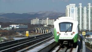 Bombardier South Korea train