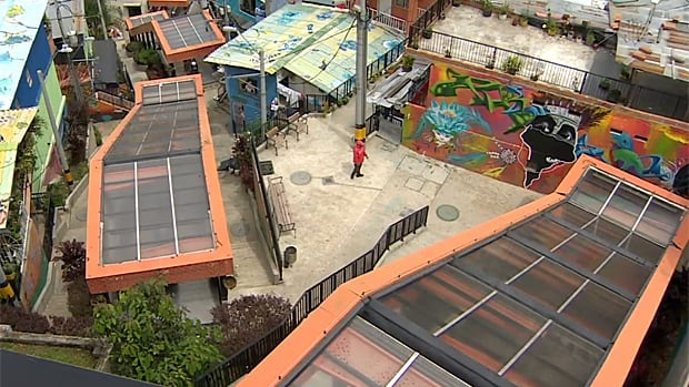 In Medellin, Colombia, a network of outdoor escalators solved a major transit issue at a fraction of the cost of more traditional systems.