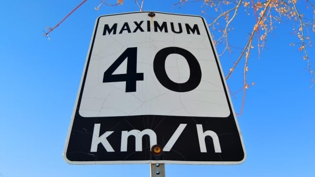 The province could reduce the default speed limit from 50 km/hr to 40 km/hr.