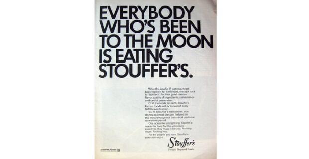 Stouffer's Moon Ad