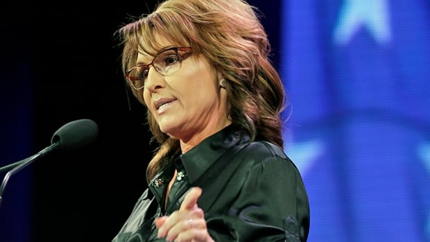 Former Alaska governor Sarah Palin speaks during the Freedom Summit last week in Des Moines, Iowa. By most accounts, including Republican ones, it didn't go well.