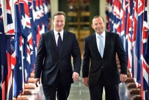 David Cameron and Tony Abbott