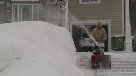 Fredericton snowblower