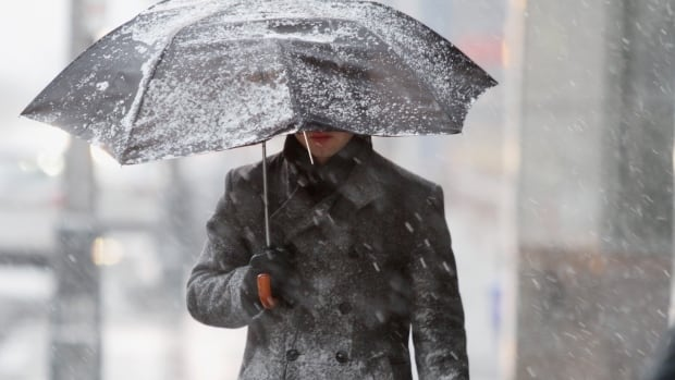 From Saturday until Tuesday, forecasts are calling for at least a 60 per cent chance of flurries throughout the day.
