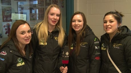 alberta women's juniour curling team