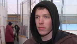 Lucas Green Crysler Community Centre ice rink volunteer 18 Feb 1 2015