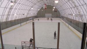 Crysler Community Centre new covered rink Feb 1 2015