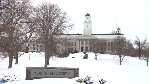 An Acadia University spokesman said there are times the needs of an individual have exceeded the university's capacity to provide adequate and necessary support for their safety and well-being.