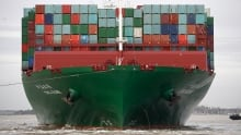 Trade deficit narrows to $3B in April but still second-highest ever