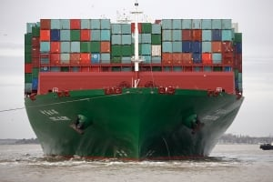 CSCL Globe shipping tanker