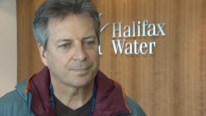 James Campbell with Halifax Water