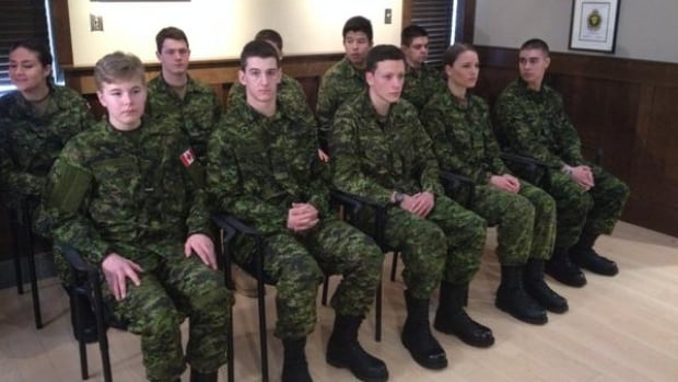 High school students get credits and wages as part of basic military training.
