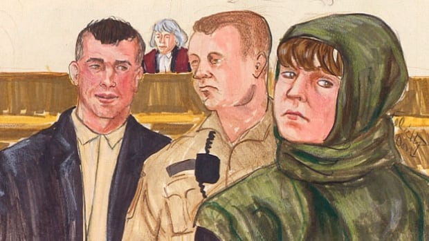 Amanda Korody, on the right, and John Nuttall, on the left, have pleaded not guilty to knowingly facilitating a terrorist activity, conspiracy and making or possessing an explosive device, after police seized pressure-cooker bombs outside the B.C. Legislature on Canada Day.