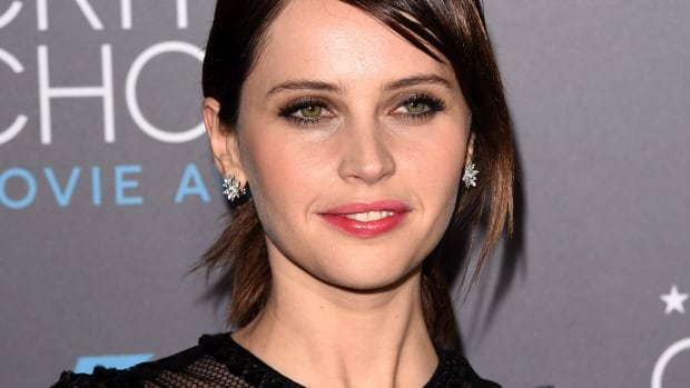 Actress Felicity Jones attends the 20th annual Critics' Choice Movie Awards at the Hollywood Palladium on January 15, 2015 in Los Angeles, Calif.