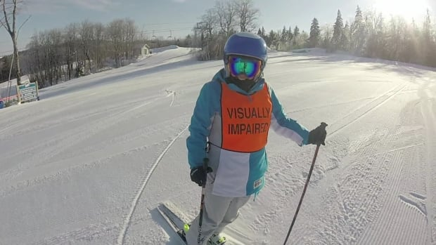 Brenda MacDonald, 16, started skiing to prove people with disabilities can do any sport.