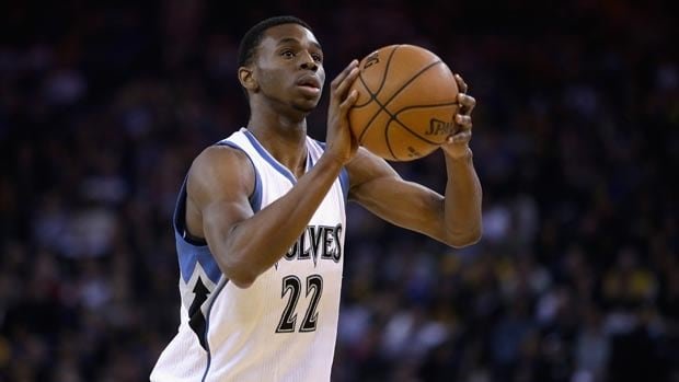 Canadian Andrew Wiggins leads all NBA rookies in scoring with an average of 15.3 points per game.