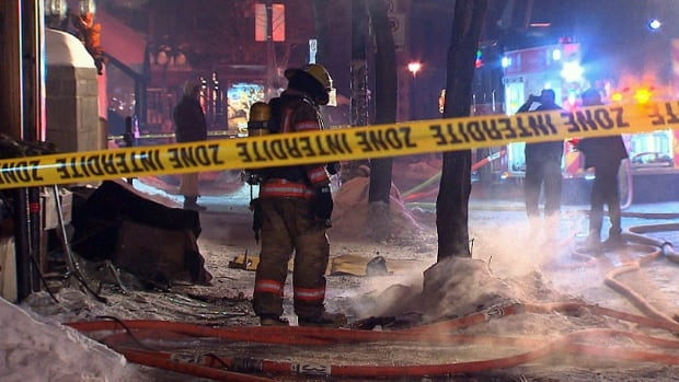 About 40 firefighters attended to the fire on Parc Avenue on Friday morning.