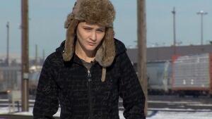 Stephanie Katelnikoff speaks about the Banff derailment