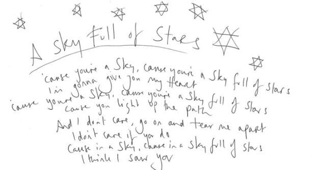 Chris Martin Lyrics