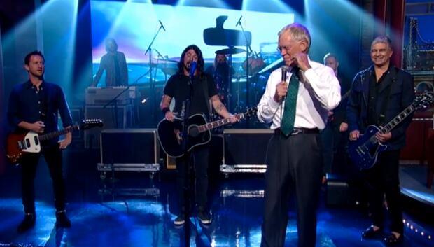 Foos on Letterman